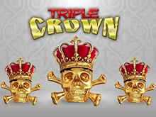 Крупный джекпот и олдскульный геймплей в автомате Triple Crown