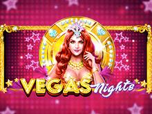 Азартная игра в мобильном казино на слоте Vegas Nights